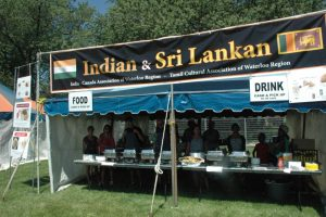 Indian and Sri lankan food festival