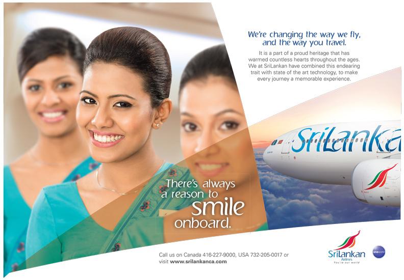 sri lankan Airlines Canada